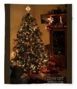 I'll Be Home For Christmas Fleece Blanket