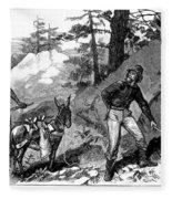 Illegal Prospecting, 1879 Fleece Blanket