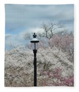 Illuminating Blossoms Fleece Blanket