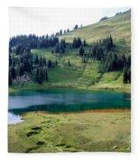 Image Lake  Fleece Blanket