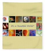 Image Mosaic - Promotional Collage Fleece Blanket