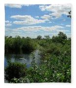 Images Of The Pantanal Fleece Blanket