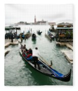 Images Of Venice 10 Fleece Blanket