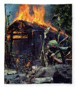 Images Of Vietnam Fleece Blanket