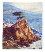 Imaginary Cypress Fleece Blanket