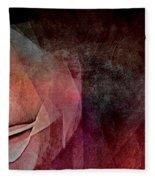 Imagination In Bloom Fleece Blanket