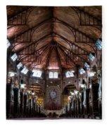 Immaculate Conception Church Fleece Blanket