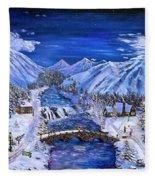 Immanuels Crossing Fleece Blanket
