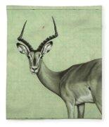 Impala Fleece Blanket