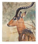 Impala Fleece Blanket
