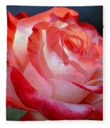 Imperfect Rose Fleece Blanket