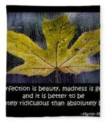 Imperfection Fleece Blanket
