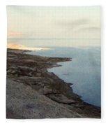Impressionist Of The Dead Sea Fleece Blanket