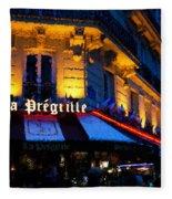 Impressions Of Paris - Latin Quarter Night Life Fleece Blanket
