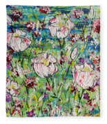 In Bloom Fleece Blanket