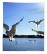 In Flight Fleece Blanket