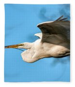 In Flight With Stick Fleece Blanket