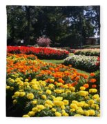 In Full Bloom Fleece Blanket