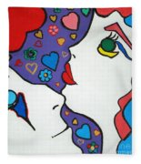 In Love Fleece Blanket