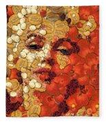 In Memory M M Fleece Blanket