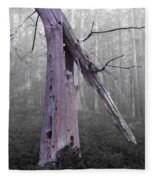 In Memory Of A Tree Fleece Blanket