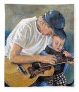 In Memory Of Baby Jordan Fleece Blanket