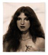 In Memory Of My Youth - Reflection Fleece Blanket