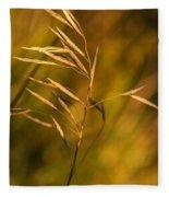 In Praise Of Grass 3 Fleece Blanket