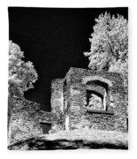 In Ruins Fleece Blanket