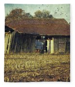 In The Country Fleece Blanket