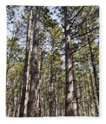 In The Forest Fleece Blanket