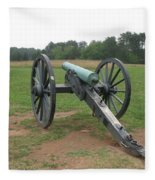 In The Line Of Fire - Manassas Battlefield Fleece Blanket