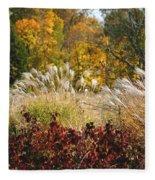 In The Meadow 2 Fleece Blanket