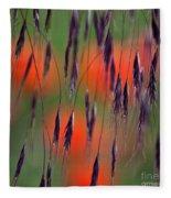 In The Meadow Fleece Blanket