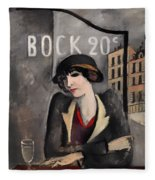 In The Outskirts Of Paris Fleece Blanket