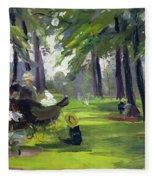 In The Park  Fleece Blanket