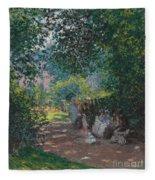 In The Park Monceau Fleece Blanket