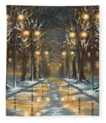 In The Park Fleece Blanket