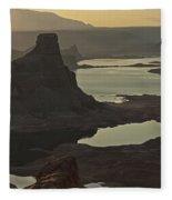 In The Soft Morning Light  Fleece Blanket