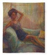 In The Window Light Fleece Blanket