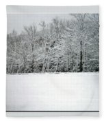 In Winter's Light Fleece Blanket