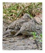 Inca Doves Fleece Blanket