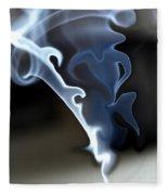 Incense Smoke Dance - Smoke - Dance Fleece Blanket
