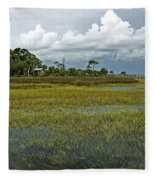 Incoming Tide Fleece Blanket