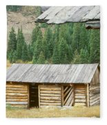 Independence Ghost Town Fleece Blanket
