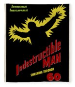 Indestructible Birthday Card Fleece Blanket