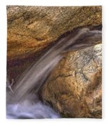Indian Canyons 11 Andreas Canyon Fleece Blanket