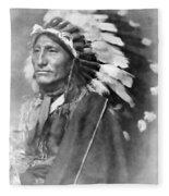 Indian Chief - 1902 Fleece Blanket