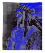 Indian Chief Fleece Blanket