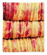 Indian Fabric Fleece Blanket
